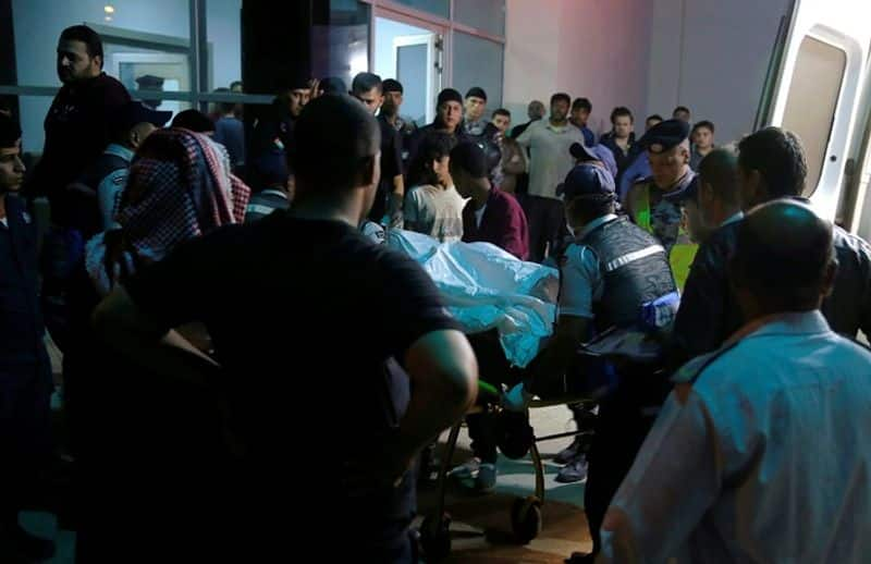 Death toll continues to rise flash flood sweeps people near Dead sea