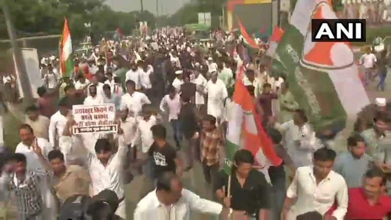Opposition Stage Huge Protest Infront of CBI Office