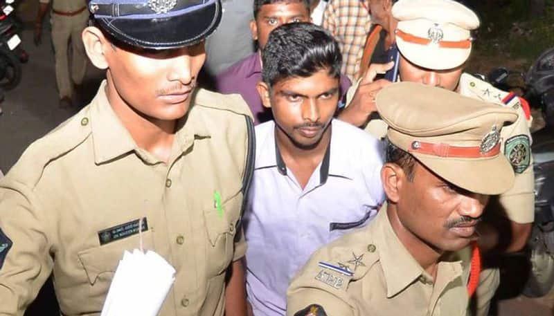jagan attack case; srinivas attended in court