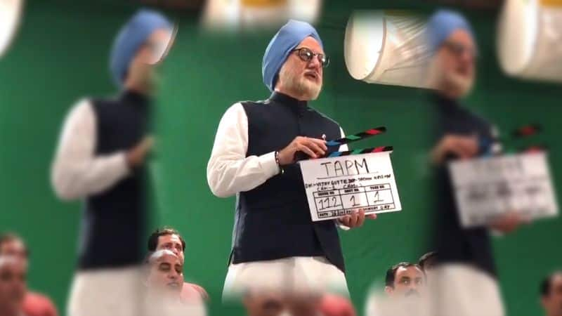 Anupam Kher wraps up the shoot of The Accidental Prime Minister, and said some things about ex PM
