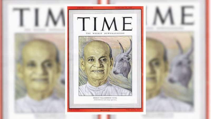 Time Magazine Sardar Patel Sam Manekshaw Kashmir  Iron Man of India interview