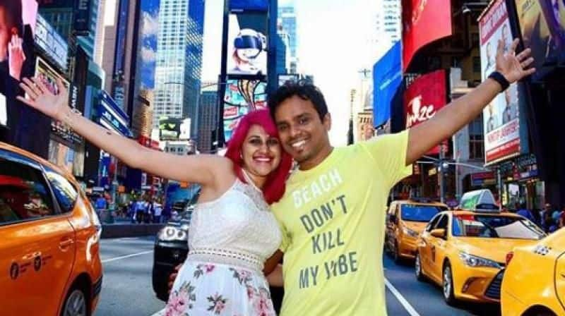 Indian techie couple who fell to death from cliff US were intoxicated says autopsy report