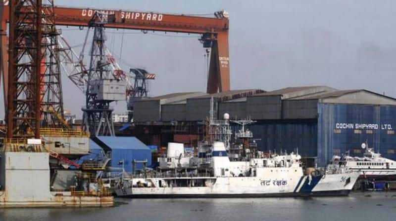 can apply for many trades in cochin shipyard