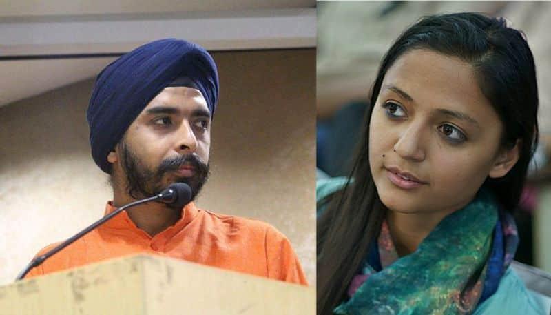 Tajinder pal singh Bagga Shehla Rashid jnu defamation damages Re 1
