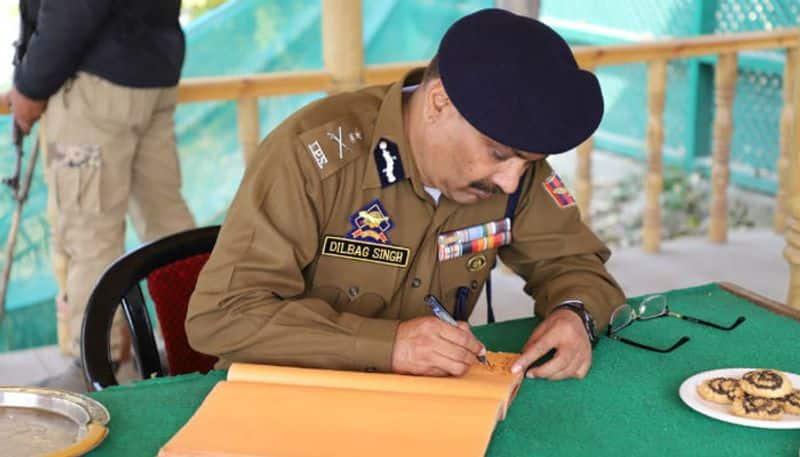 Dilbag Singh, SP Vaid, Kashmir, Jammu and Kashmir Police, Satya Pal Malik, IPS