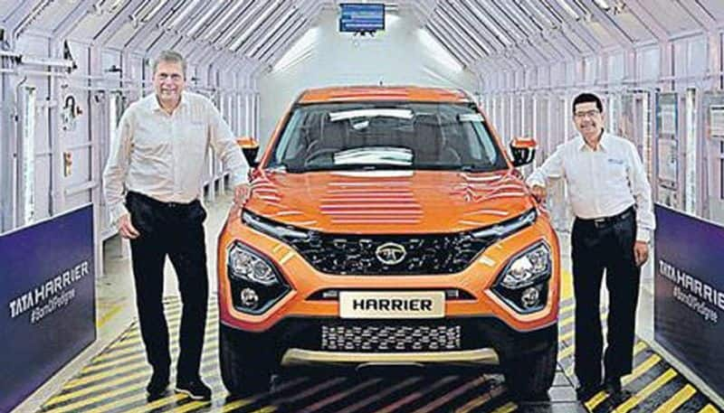 First Tata Harrier rolls off production line ahead of launch next year
