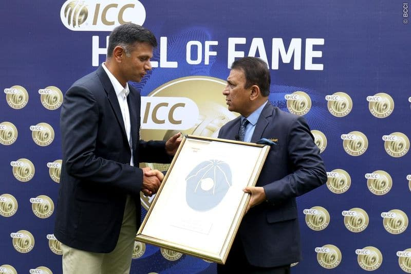 Rahul Dravid officially included into ICC hall of fame