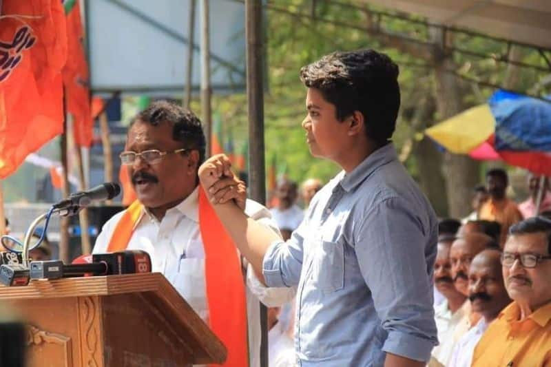 Kerala CPM leader's daughter Asha Lawrence removed from job  son participates BJP protest