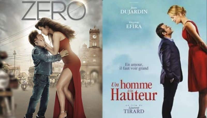 bollywood film zero posters are copied from french film and telugu film