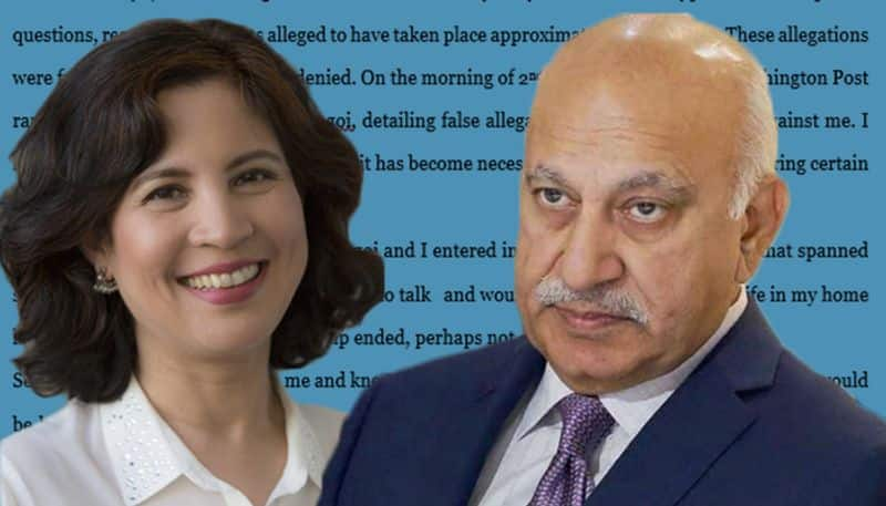 Journalist hits back at MJ Akbar after he claims rape allegations as 'consensual'
