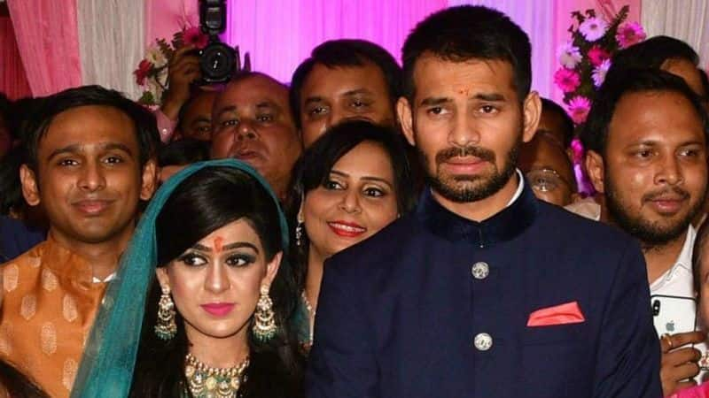 Lalu Yadav's family shows daughter-in-law Aishwarya out of the house