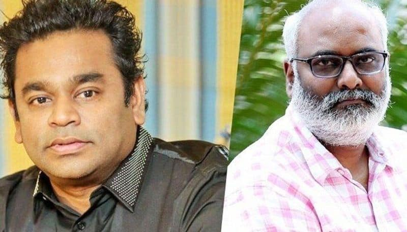 MM Keeravani has sung the third song from 2 point 0 telugu