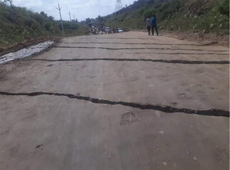earthquake at polavaram project..?