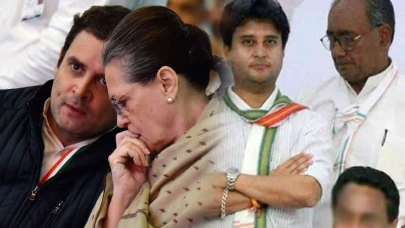 Sonia is still handling conflicts in congress
