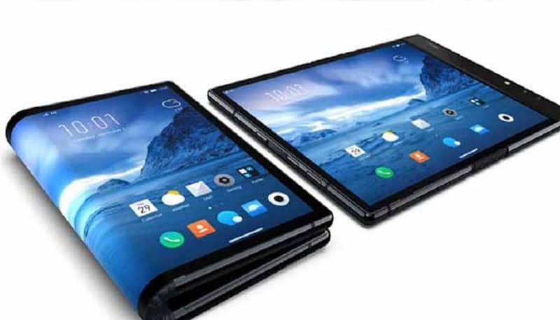 The world's first foldable smartphone is here, and it's not by Samsung or Huawei