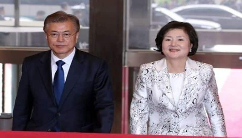 SOUTH KOREA FIRST LADY CAME INDIA TO CELEBRATE DIWALI IN AYODHYA