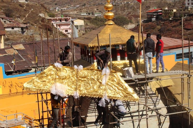 Gupta brothers donate gold roof for temple of Badrinath