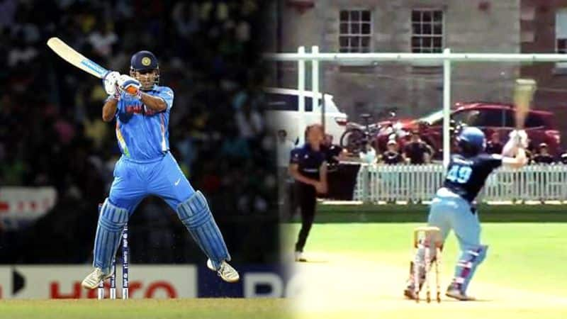 Steve Smith aces MS Dhoni signature helicopter shot to perfection