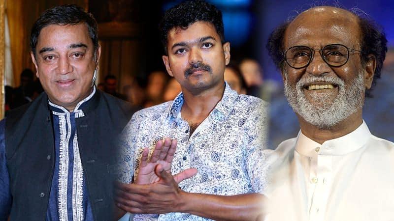 DMK Kollywood tamil film star mk stalin rajinikanth kamal haasan vijay sarkar