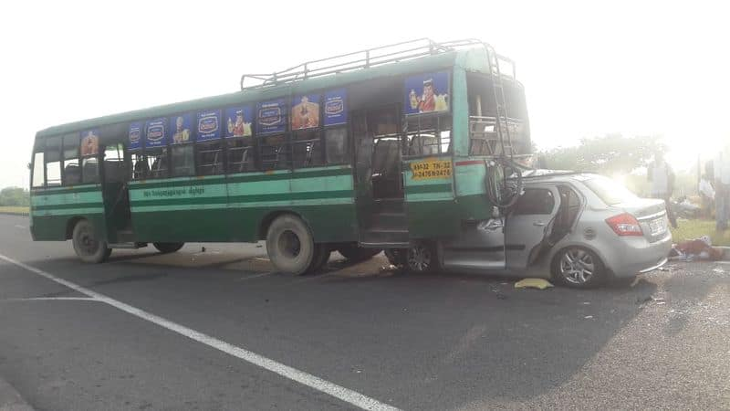 minister jayakumar's assistant met with an accident and 3 of them died