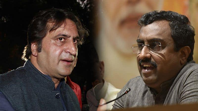 Ram Madhav PDP NC rebel Sajjad Lone Jammu and Kashmir elections Srinagar