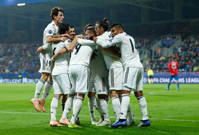 Champions League: Karim Benzema scores twice as Real Madrid rout Viktoria Plzen 5-0 in 'great game'