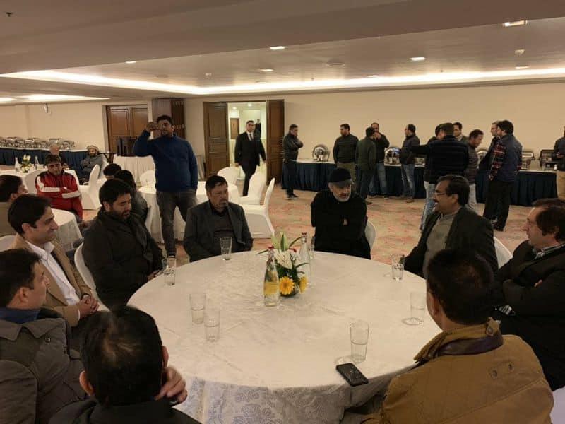 BJP, PDP national conference Sajjad Lone Jammu-Kashmir government ram madhav