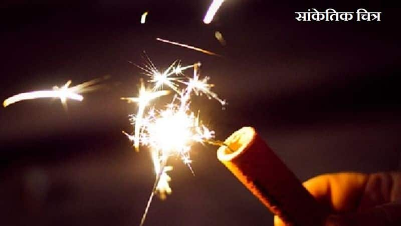 meerut: boy sets cracker in 3 year old girl mouth