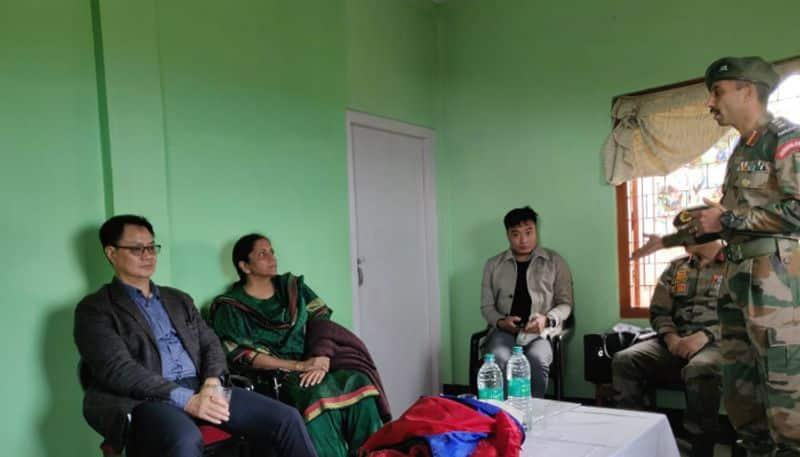 Arunachal Pradesh Bomdila Army Police scuffle Twitterati support forces