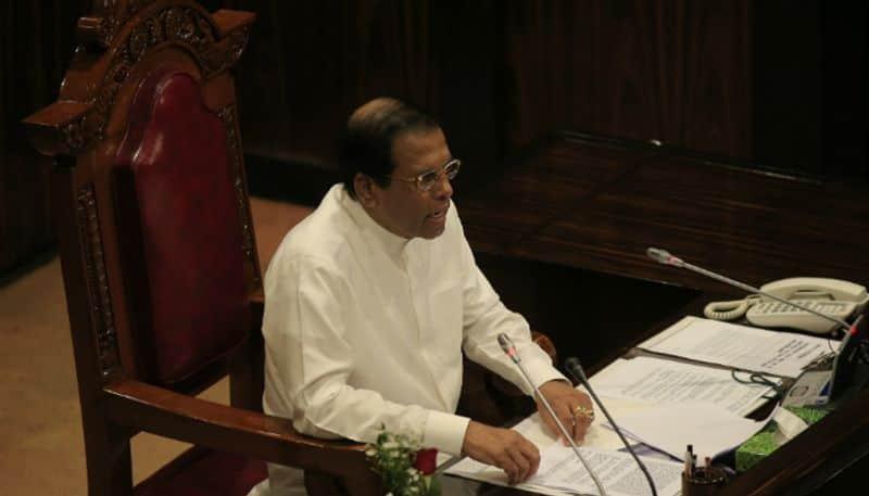 Sri Lanka political crisis President Maithripala Sirisena Parliament dissolved