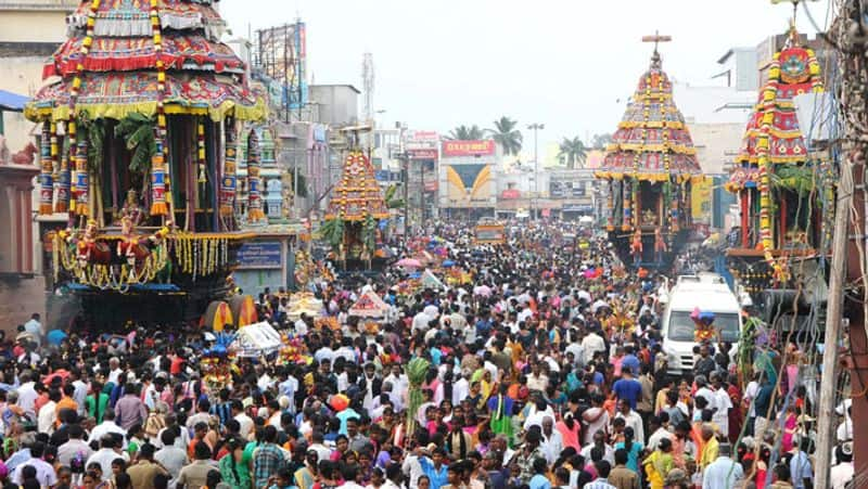 Thiruvannamalai Deepam festival...7 place Annadanam!
