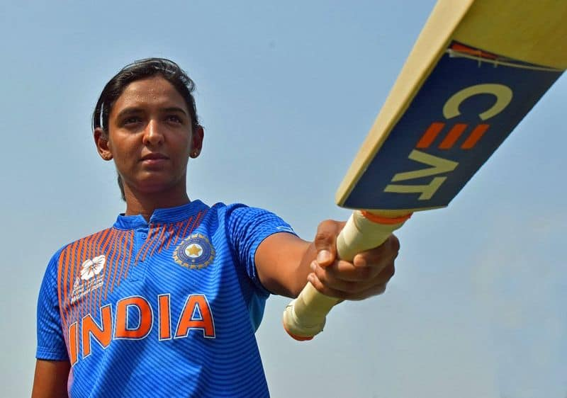 Women's World T20: Harmanpreet Kaur says she battled stomach cramps with big sixes during record 103