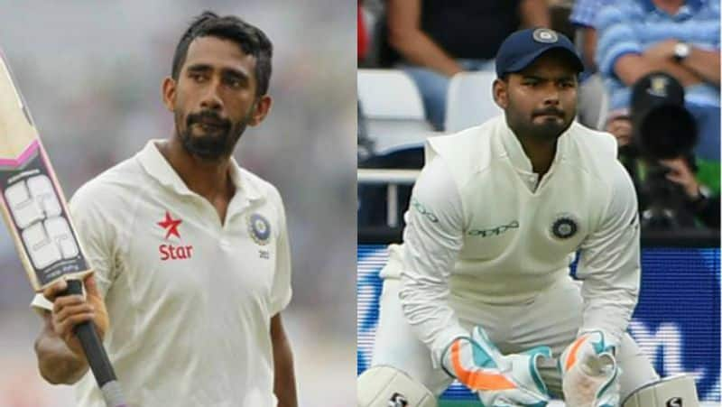 India vs West Indies 2nd Test Wriddhiman Saha or Rishabh Pant Gautam Gambhir gives verdict