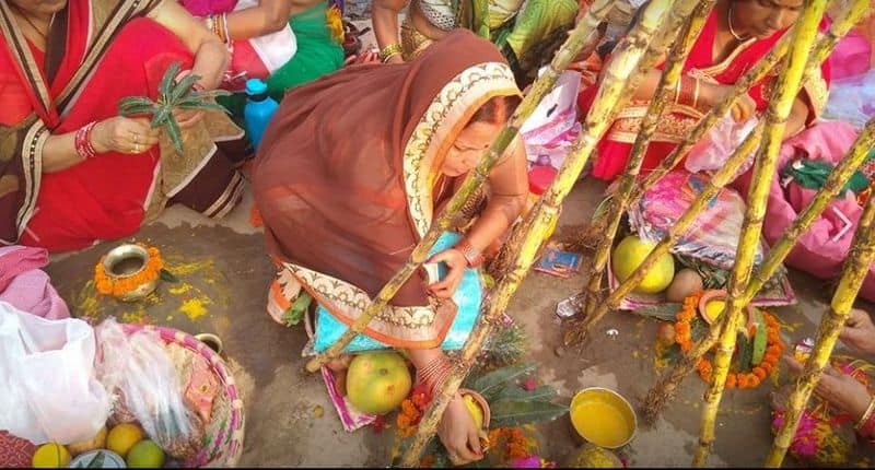 Maha Parve Chhath Pooja today will be given to the Sun