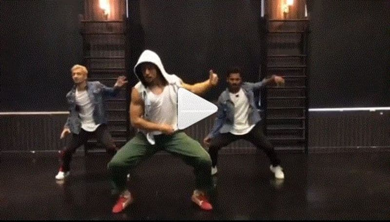 Tiger shroff upload his dance video on insta and he set stage on fire