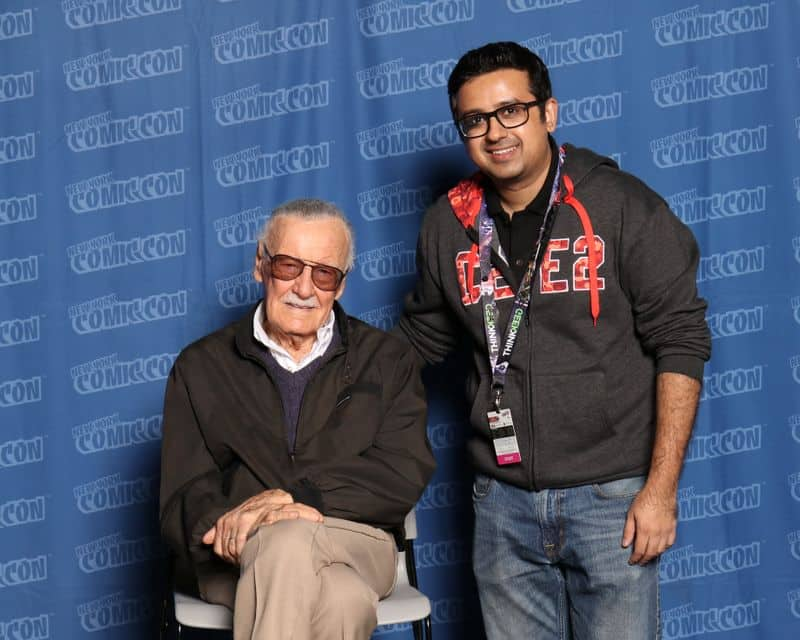 Stan Lee superheroes relatable for fans Comic Con founder Jatin Varma