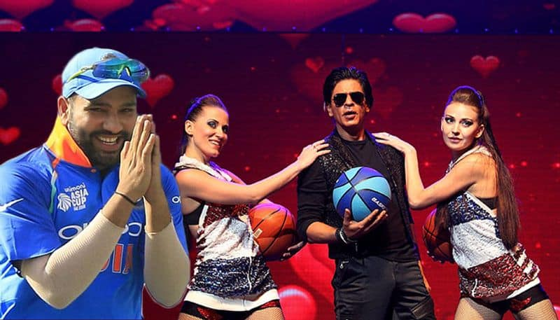 Shah Rukh Khan promises to perform live for Rohit Sharma at IPL after fun conversation on Twitter