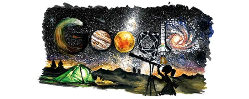 new google doodle on childrens day