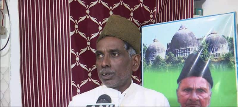 ayodhya land dispute case litigant iqbal ansari leave the ayodhya for safety of life