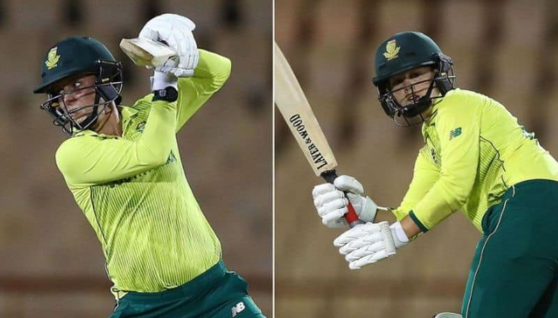 Dane van Niekerk-Marizanne Kapp become first married couple to bad together at Women's World Cup T20