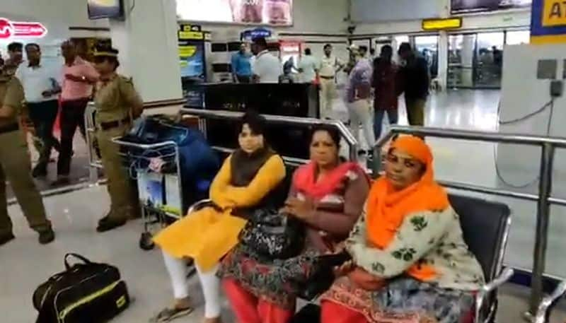Satripati Desai, who reached Kerala to go to Sabarimala