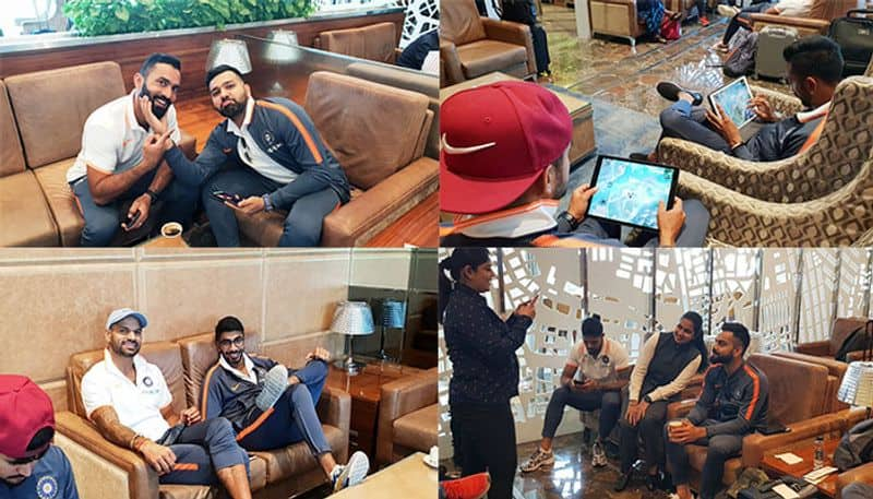 India players turn 'gamer boys' with PUBG as flight to Australia is delayed