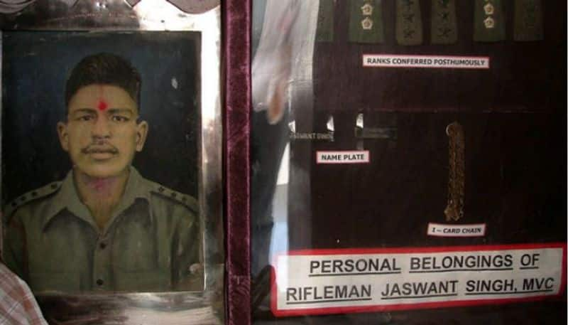 Hero of Nuranang Story of Rifleman Jaswant Singh Rawat who still guards India's borders many years after martyrdom