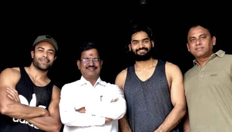 Mohd Asif shooting Telugu debut Kartikeya Kalaipuli Thanu