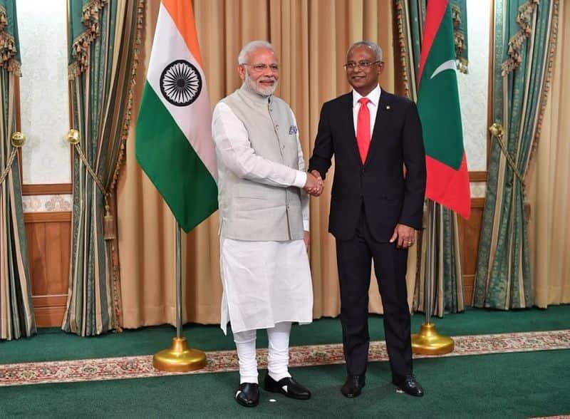 Maldives new president sworn