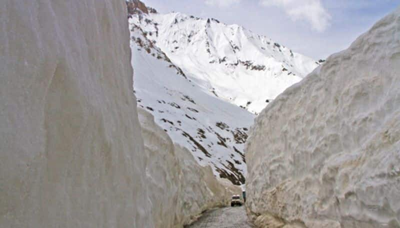 World's first road through glacier to stand in Ladakh