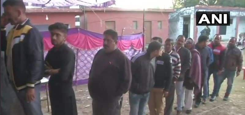 Voting underway for second phase of Panchayat Polls in Jammu and Kashmir