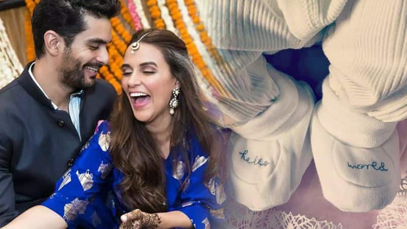 Neha Dhupia, Angad Bedi have chosen an exotic Persian name for their baby girl