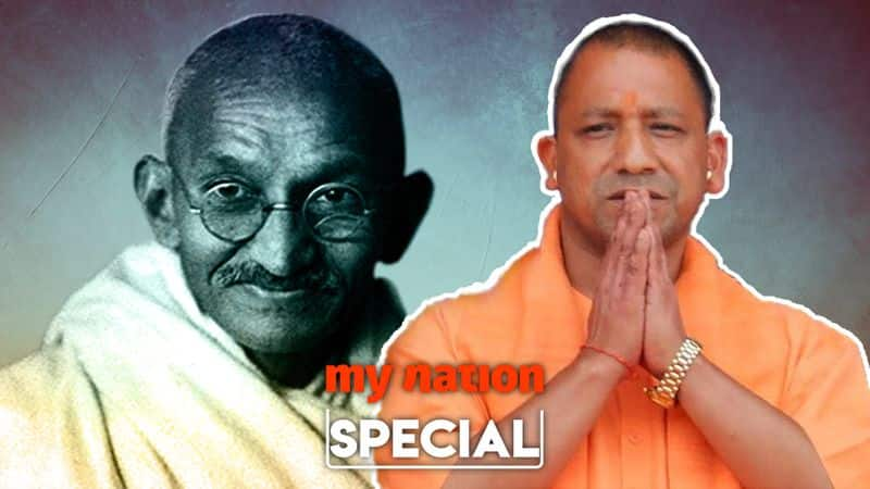BJp will follow gandhi path