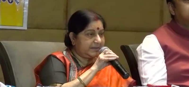 sushma wont contest in next election